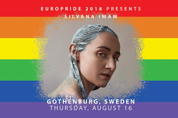 Swedish rapper to play free concert at EuroPride 2018