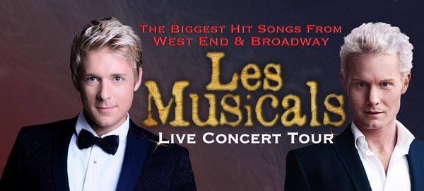REVIEW: Les Musicals – live concert tour @Theatre Royal