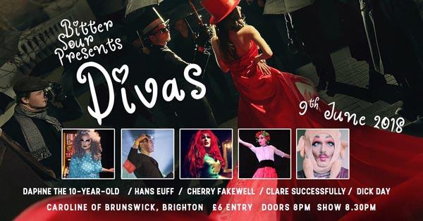 PREVIEW: Bitter Sour presents Divas @Caroline of Brunswick