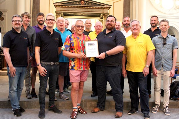 Actually chorus raise £1,445.80 for Rainbow Fund