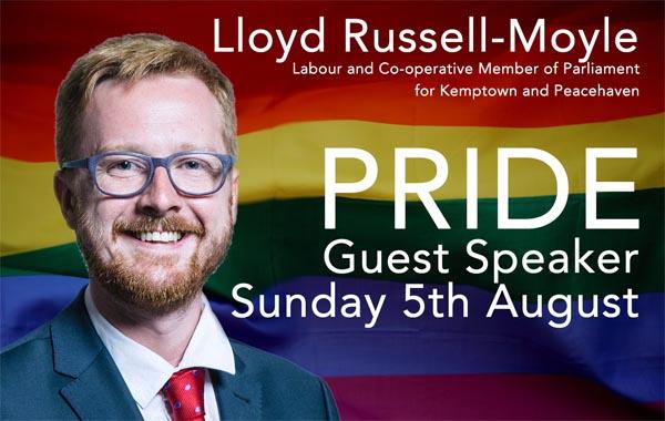 Kemptown MP to speak at Village MCC Pride service