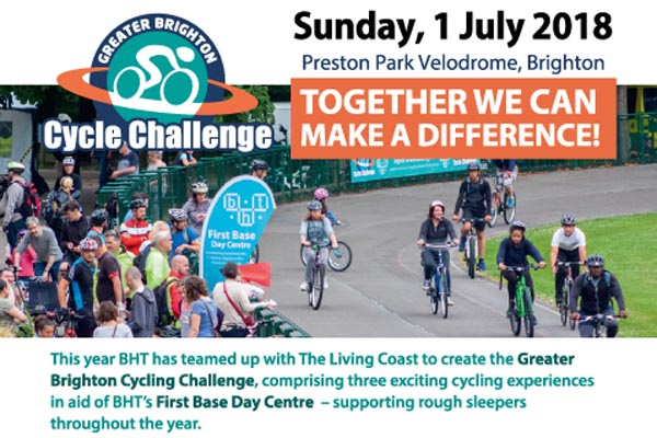 Greater Brighton cycle challenge on Sunday, July 1