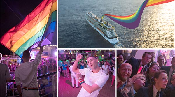 Celebrity Cruises host 'Pride Party at Sea'