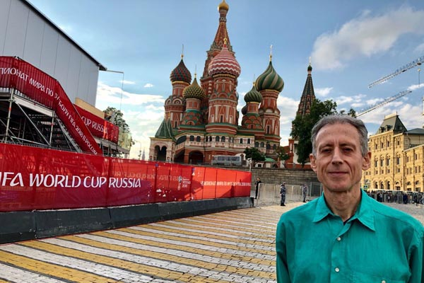 Tatchell In Russia for LGBT+ rights