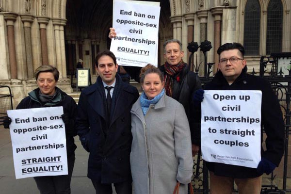 Supreme Court rules for equal civil partnerships