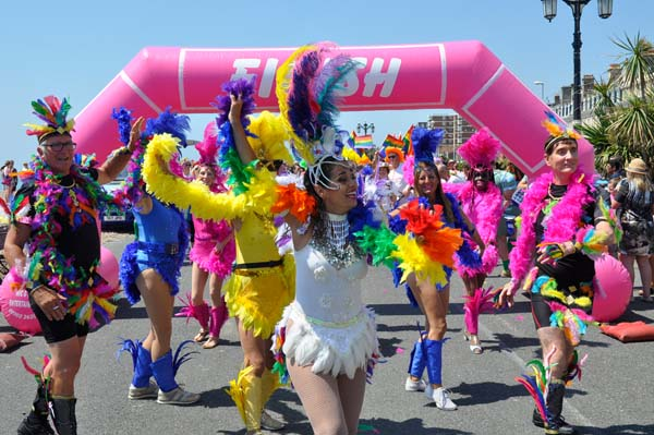 PICTURE DIARY: Worthing Pride – the parade