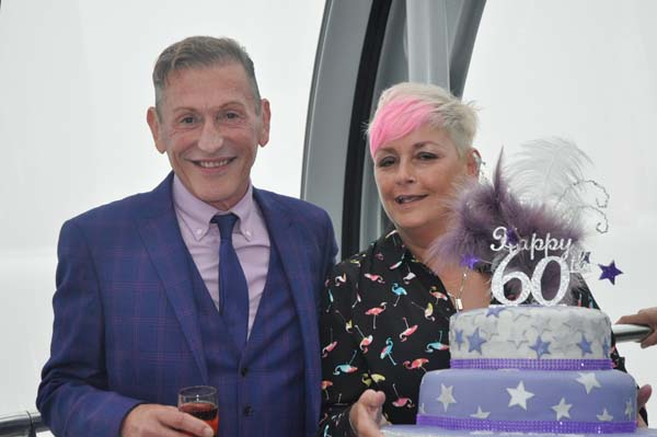 PICTURE DIARY: Dave Lynn at 60!