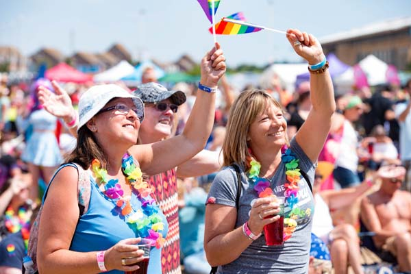 Eastbourne celebrates Pride with style