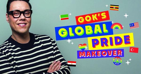 Gok Wan hosts Global Pride Makeover