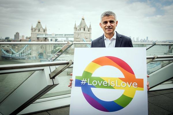 Sadiq Khan pens a letter to LGBT+ people of London…