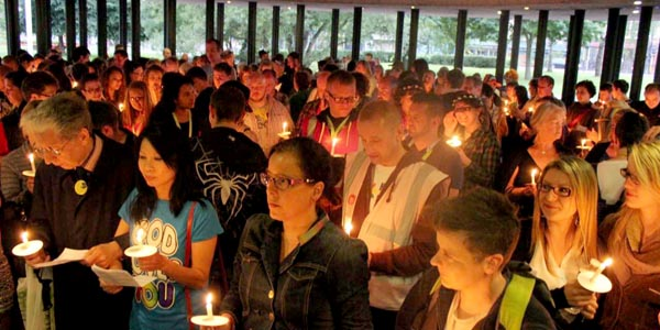 Newcastle Pride to close with Candlelit Vigil