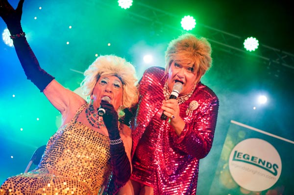 Legends Cabaret Big Top line-up