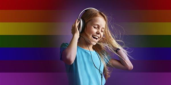 Kidz Pride silent disco on British Airways i360 deck