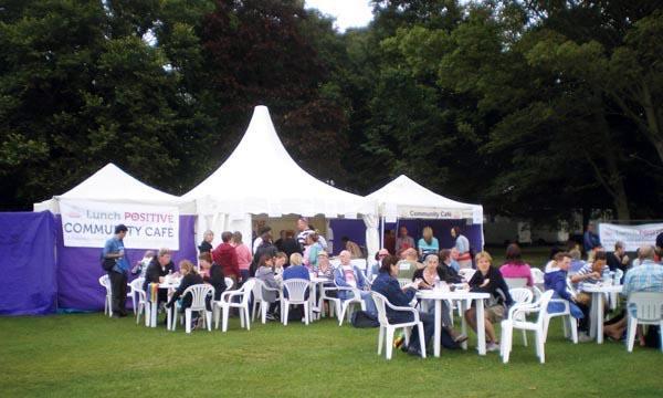 HIV charity hosts Brighton Pride Community Cafe