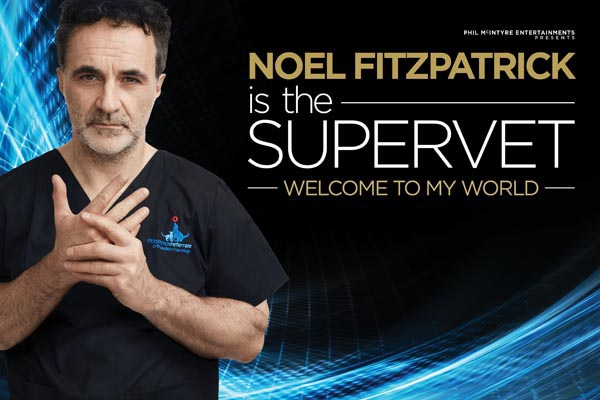 COMPETITION: Win a pair of tickets to see 'The Supervet' at Brighton Centre