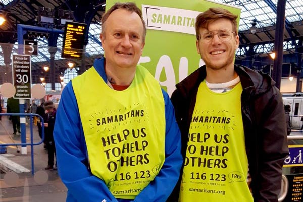 Samaritans are all ears this summer
