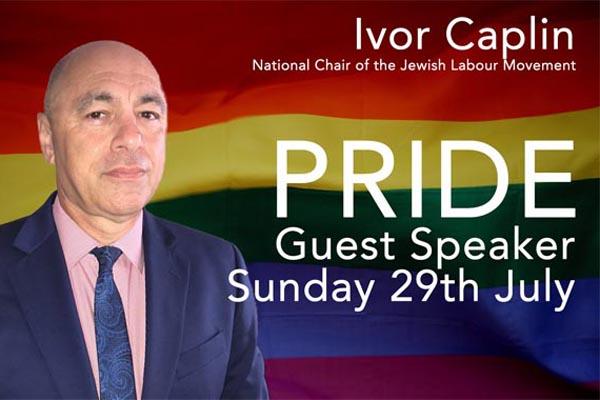 Ivor Caplin, to speak at The Village MCC