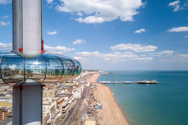Fatboy Slim to perform 450ft above Brighton