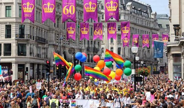 Mayor of London is strangling London Pride with restrictions says Tatchell