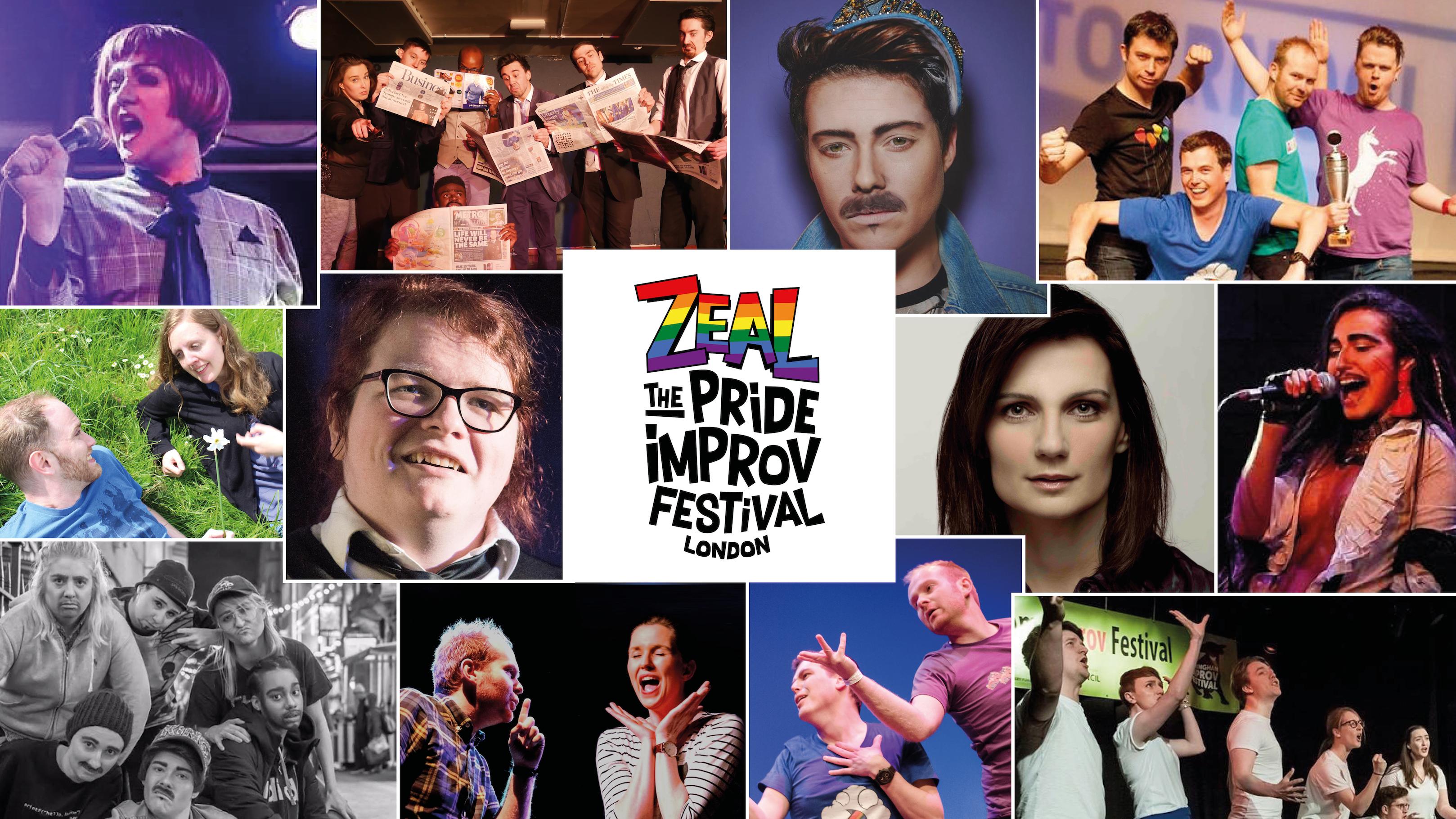 PREVIEW: Zeal: The Pride Improv Festival returns for Pride in London Festival