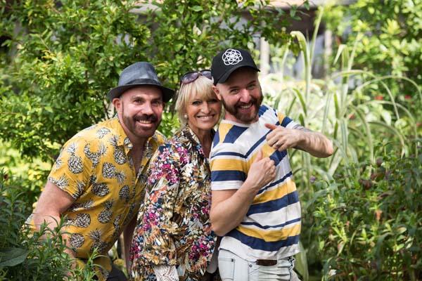 Celebrity garden raises money for cancer centre