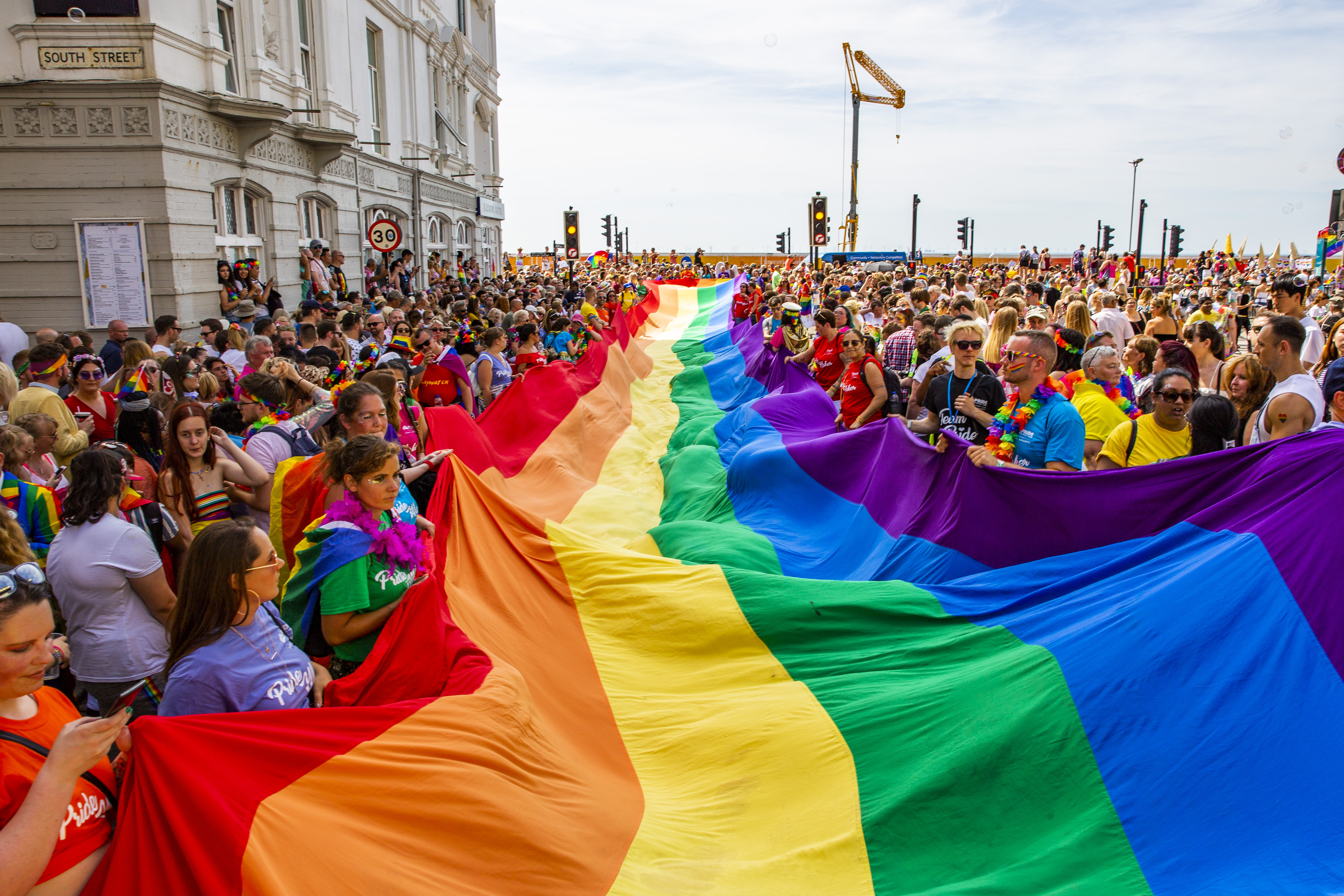 PRIDE IN PICTURES: Hugo's view of the Pride parade