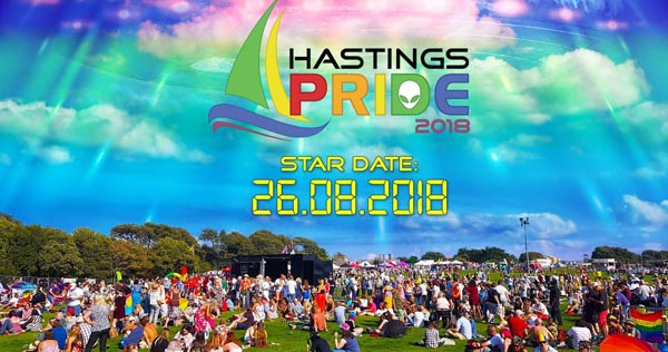 Early start at Hastings Pride on Bank Holiday Sunday (August 26)