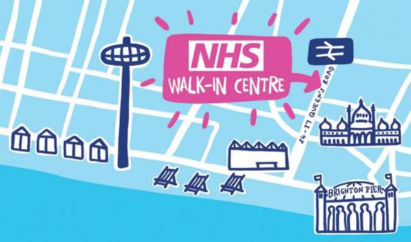 'Walk in Centre' extends hours during Pride to save A&E for those in most need