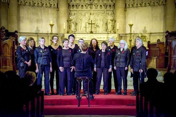Sweet Chilli Singers – Queer women's choir
