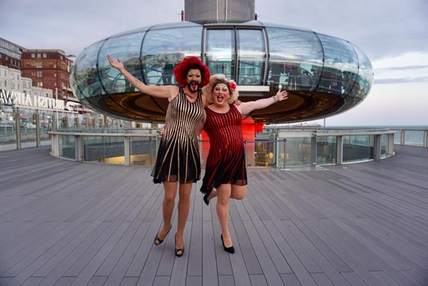COMPETITION: Win a pair of VIP tickets to see Spice and Sally Vate camp it up at 450 feet