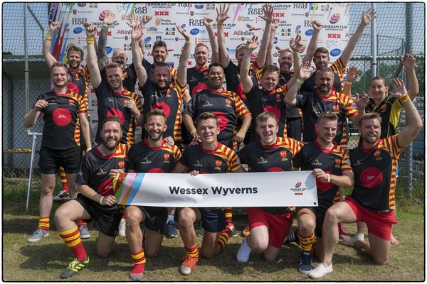 Wessex Wyverns and Wessex Heartbeat join in charity partnership