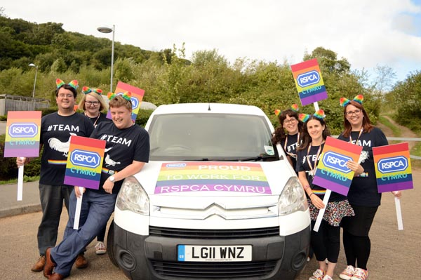 RSPCA officers to join Cymru Pride march for first time