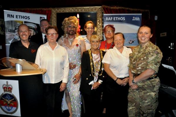 Mayor supports Royal British Legion at Bar Broadway event