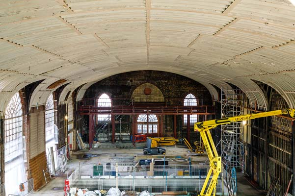 View recently discovered historic signage at Dome Heritage Open Day