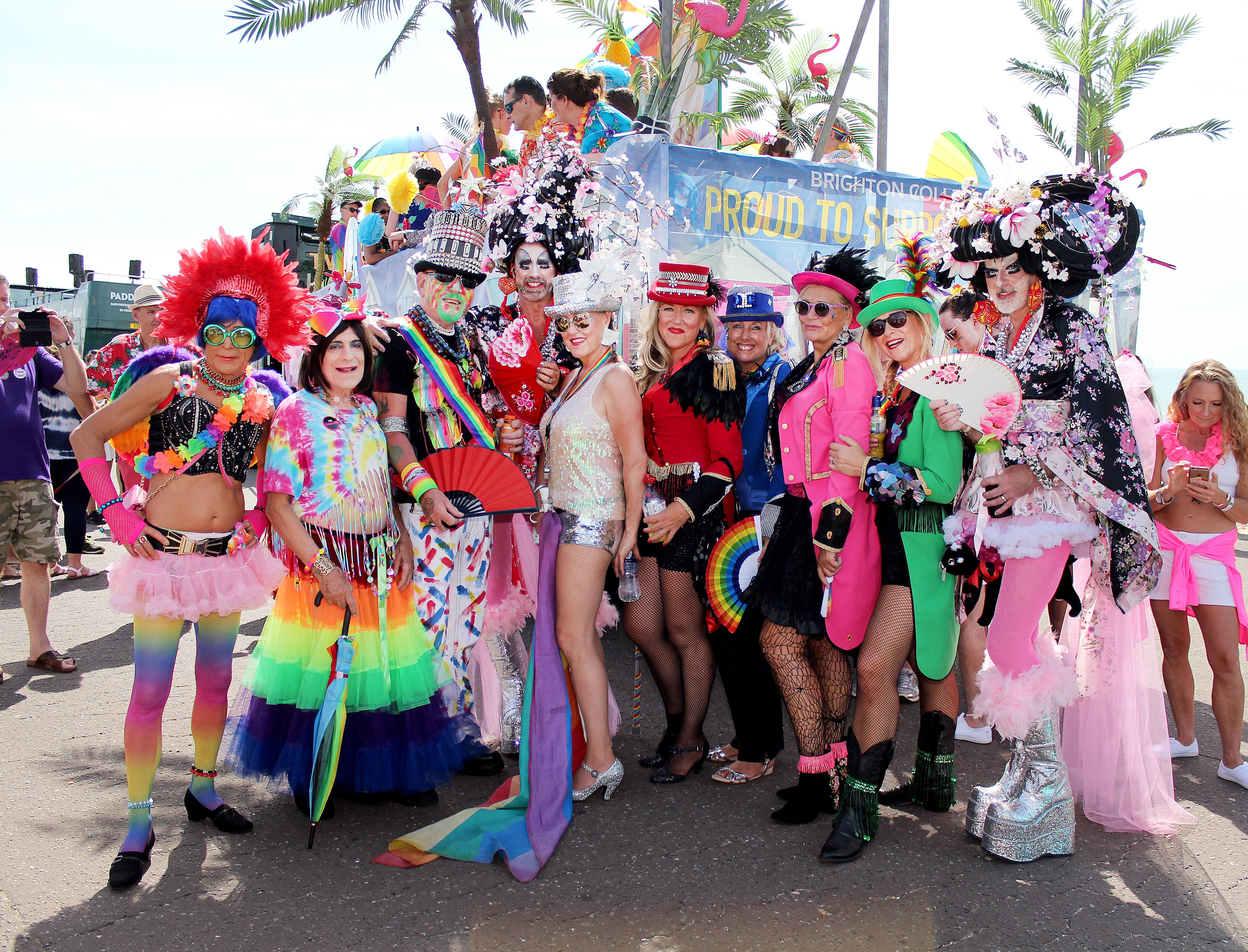 Brighton Pride 2018 raise record £250,000 for good causes