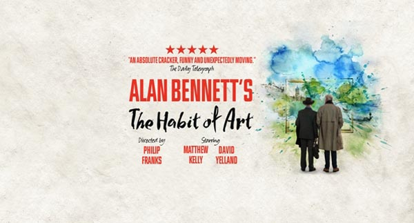 REVIEW: The Habit of Art @Theatre Royal Brighton