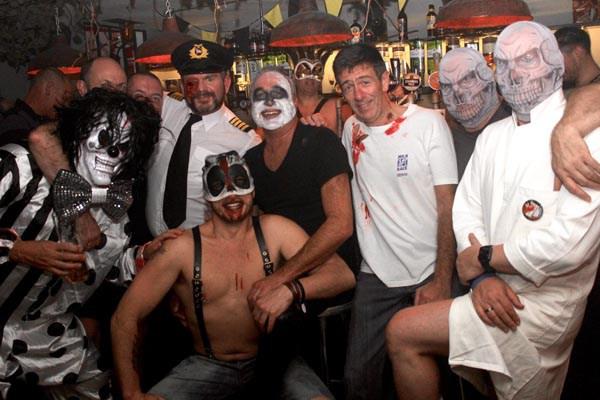 Spooky Bears at Subline on Halloween