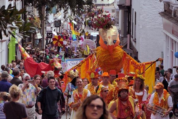 Over 1000 march to support Totnes Pride in Devon