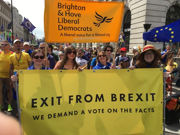 A carnival of EUnity during Liberal Democrat Conference