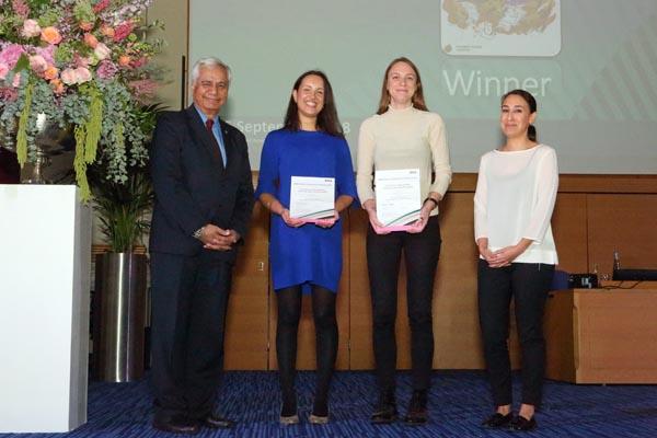 London charity wins prestigious Patient Information Award