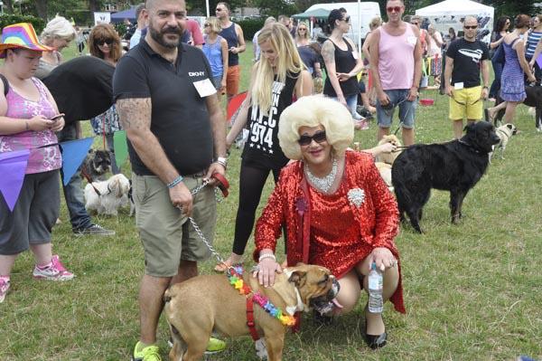 Re-scheduled Brighton Pride dog show today – Sunday, October 14