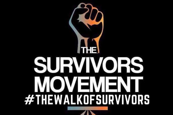 'Walk of Survivors' – raising awareness for victims of abuse