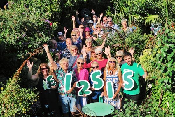 Local gardener smashes his fundraising records in 2018