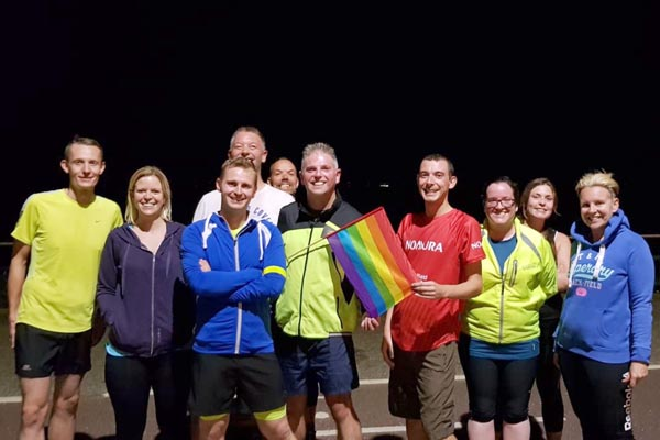 New LGBT+ running group for the city