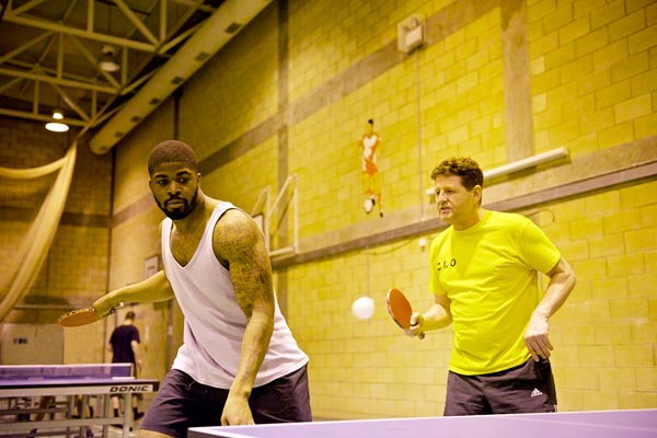 Ping pong can bring peace to prisons