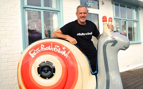 Fatboy 'Slow' – Norman changes name for charity challenge