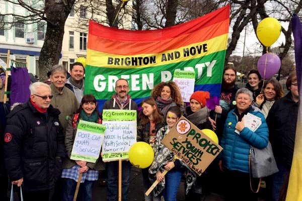 Greens to march in anti-cuts rally