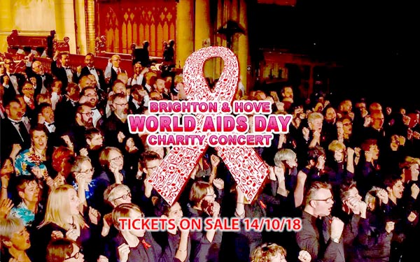 TODAY: World AIDS Day Charity Concert at 7.30pm