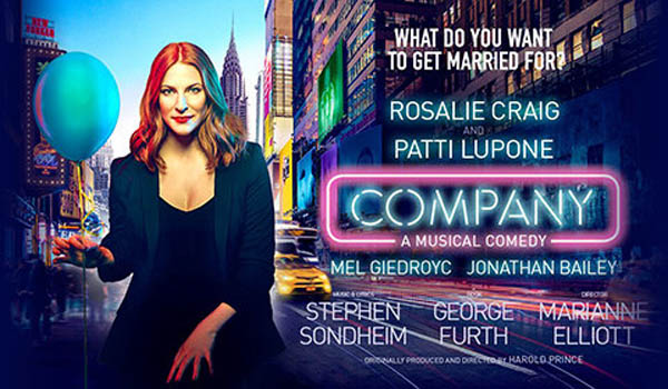 REVIEW: Comany @Gielgud Theatre, London