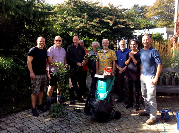 TAGS raise funds for Sussex Beacon garden